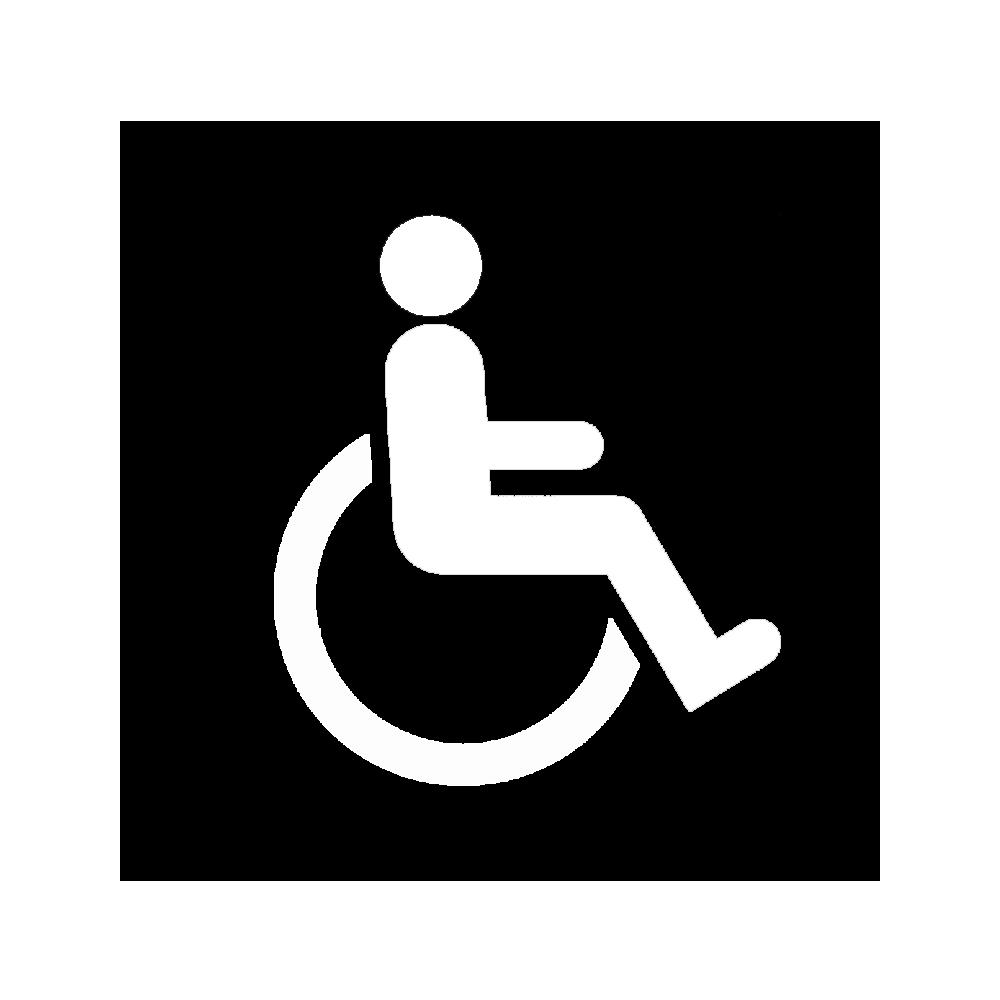 Trempo est accessible aux personnes à mobilité réduite.