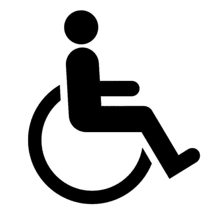 Picto accès fauteuils
