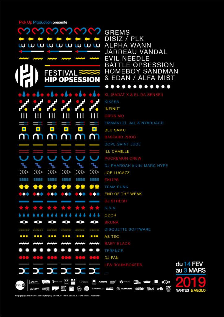 Affiche HOS programmation