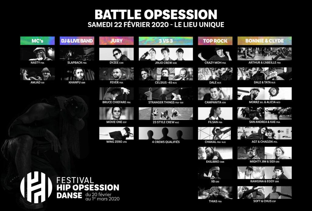 Line-up Battle Opsession J2